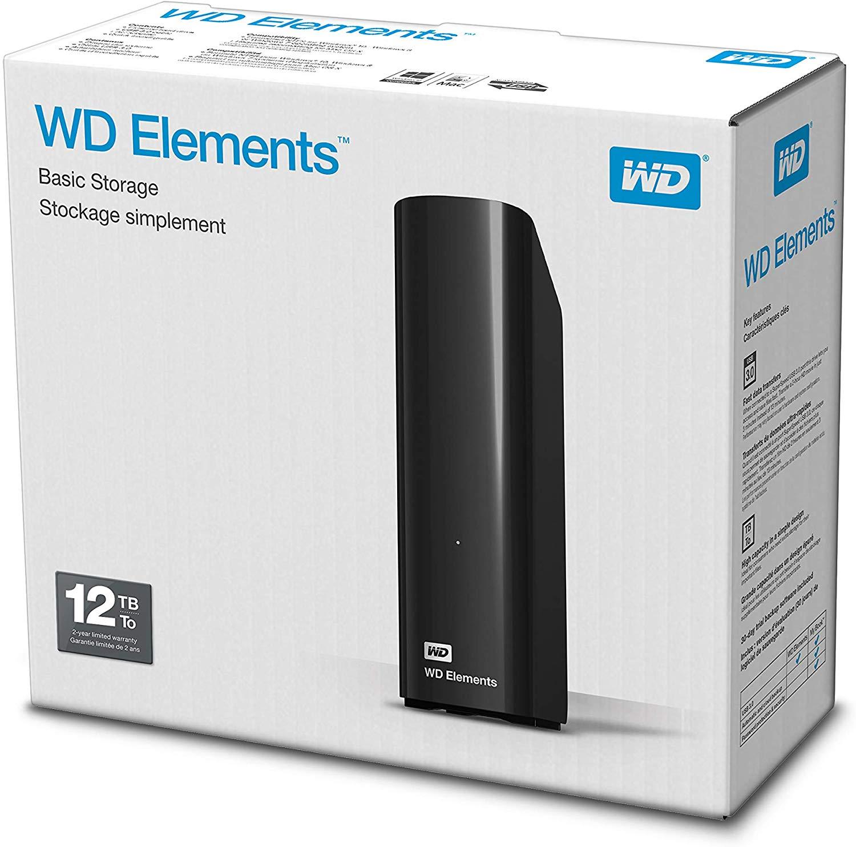 WD 12TB Elements @ Amazon UK