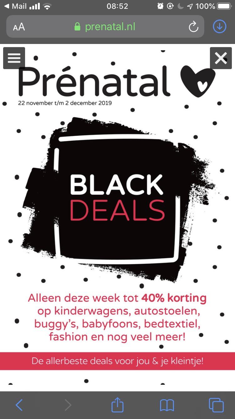 Black Deals @ prenatal
