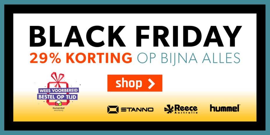 Black Friday 29%korting op www.sportdirect.com