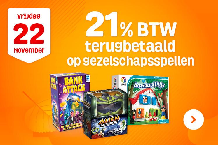 [Alleen vandaag 22/11] 17,36% korting op gezelschapsspellen & puzzels @ fun.be