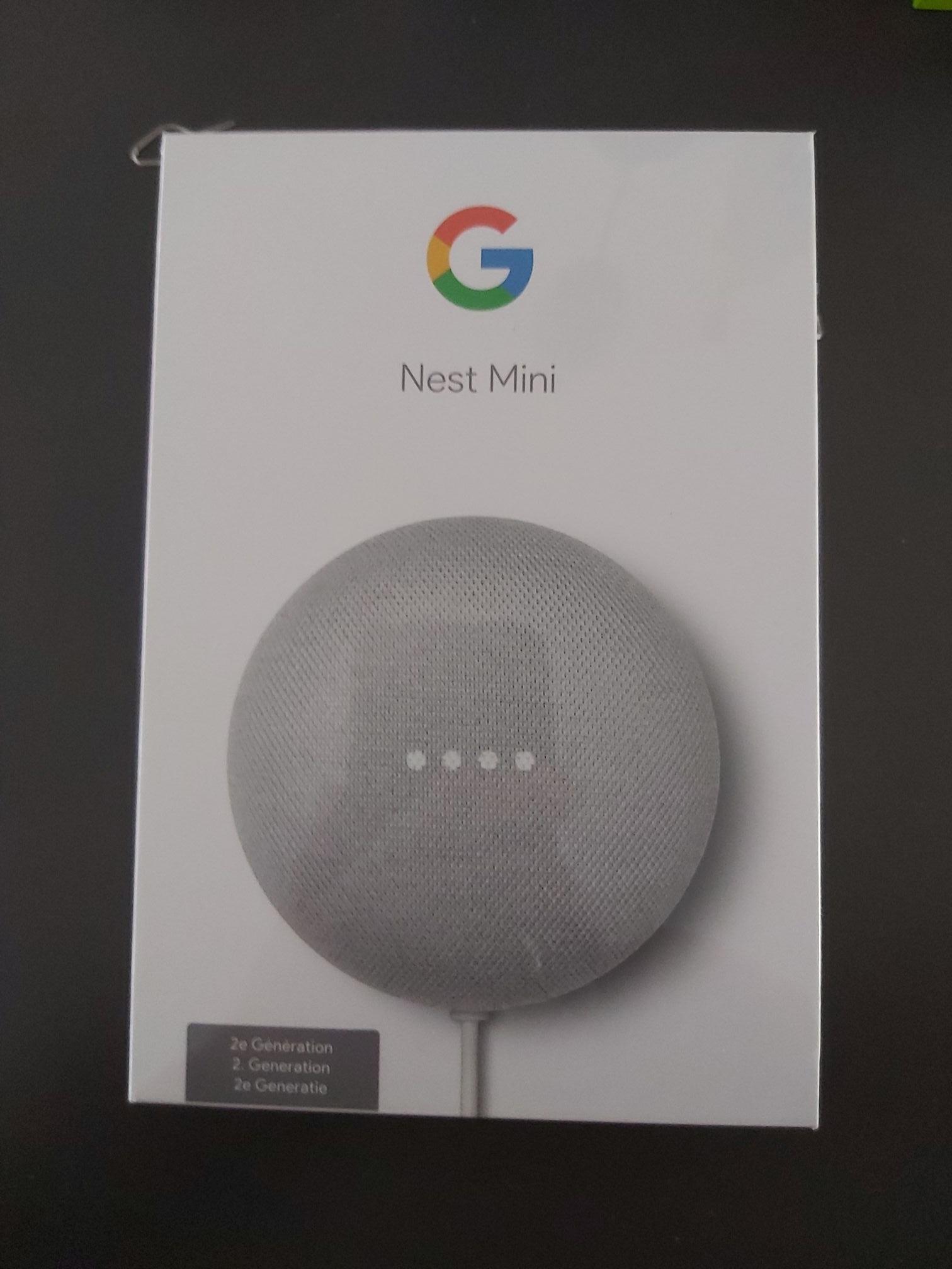 [Lokaal] google nest mini