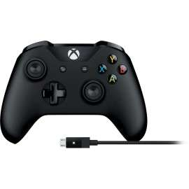 Xbox One draadloze controller (V2) + kabel voor Windows @ Microsoft Store UK