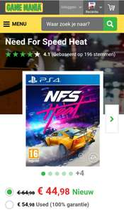 (Black friday) Need for speed Heat €45 Ps4/Xbox