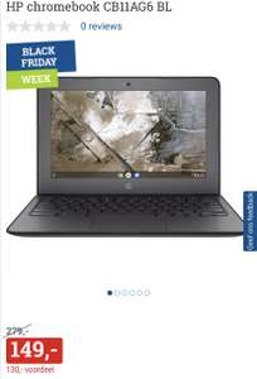 HP Chromebook CB11AG6 BL