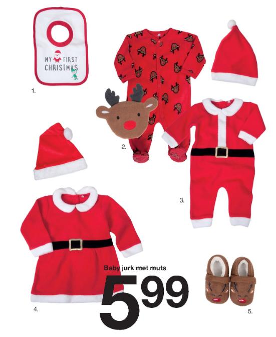Kerstkleding bij Zeeman (baby, kind, dames, heren)