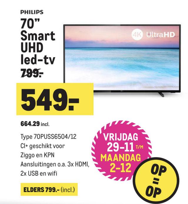 Philips 70 inch smart TV UHD-led