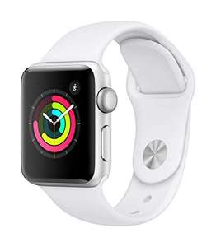 Apple Watch Series 3 (GPS + Cellular) Zilver/Zwart 38mm @ Amazon.it