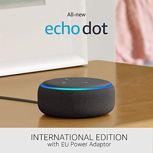 Echo Dot (3de generatie) Internationale versie bij Amazon.de voor €24,99