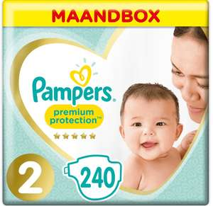 Pampers Premium Protection Maandpakket voor 20 euro!