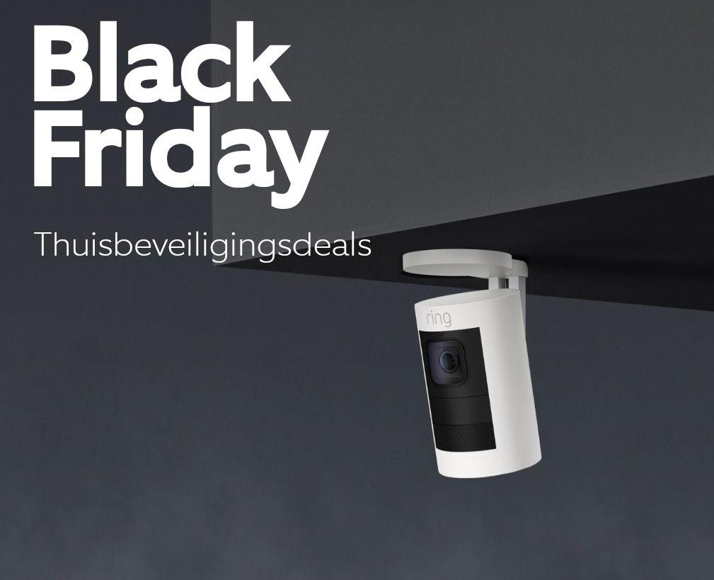 RING doorbell + cams Black Friday korting