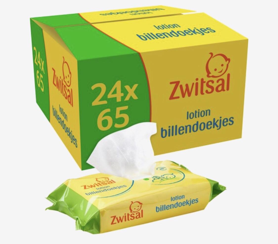 DagDeal Zwitsal billendoekjes @Bol.com