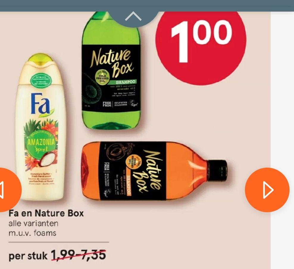Nature Box voor €1 bij Etos
