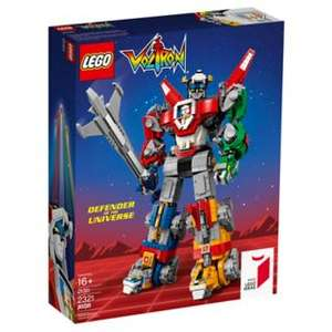 lego voltron 33 % korting