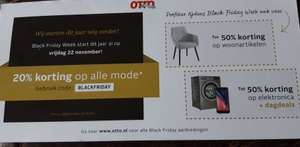 OTTO Black Friday week 20% korting op alle mode*