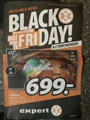 [Black Friday] Samsung QLED TV QE49Q67R