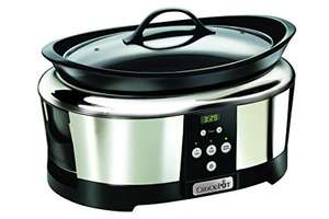 Crock-Pot 5,7L Slowcooker CR605 voor €77,94 @ Amazon.de