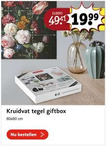 Black Friday gift box FOTOTEGEL kruidvat