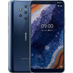 "Nokia 9 PureView Blue 5.99"" 128GB 4G Unlocked & SIM vrij @laptopsdirect.co.uk"