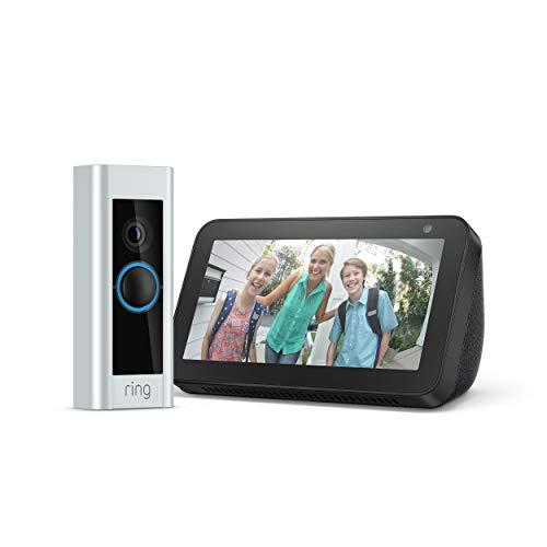Ring Video Doorbell PRO + Echo Show 5 (Bij adres in Duitsland)