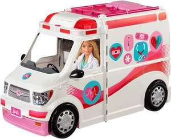 Barbie ziekenauto
