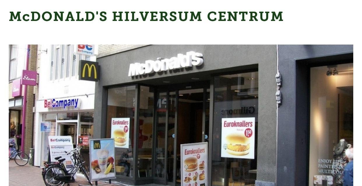Kom in pyjama en krijg een gratis ontbijt bij opening McDonald's Hilversum