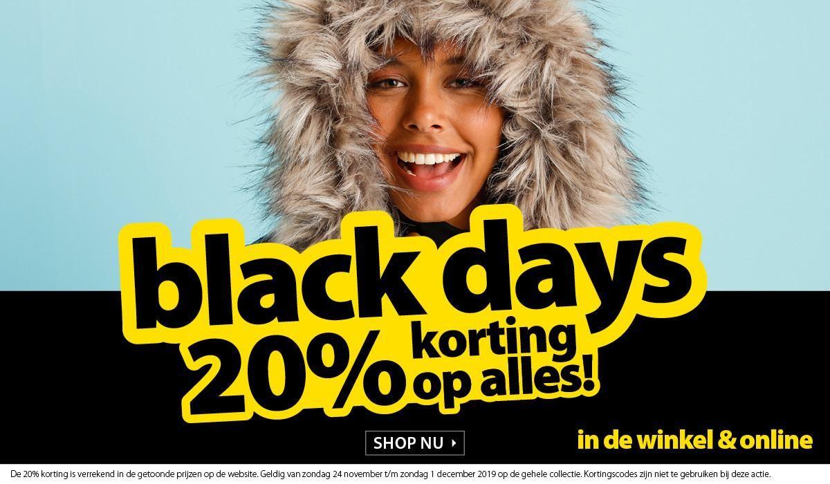 Black Days: 20% Korting op alles bij TerStal