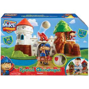 Fisher-Price Mike de Ridder Kasteel voor €24,98 @ Intertoys