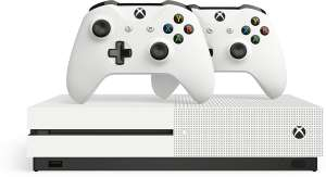 Xbox One S (1 TB + Blu-Ray) + 2 controllers + 3 Games