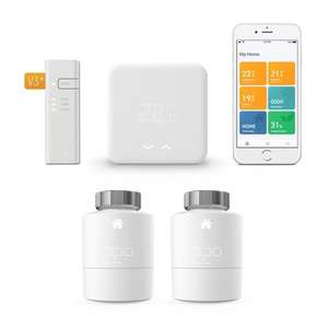 Tado° Thermostaat Starter Kit V3+ met Duopack Radiator Thermostaat + Gratis Tile Mate+ Bluetooth Tracker