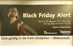 Black Friday-dagkaart Syntus/Keolis