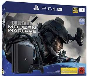 Playstation 4 Pro + Call of Duty Modern Warfare @ Amazon.de