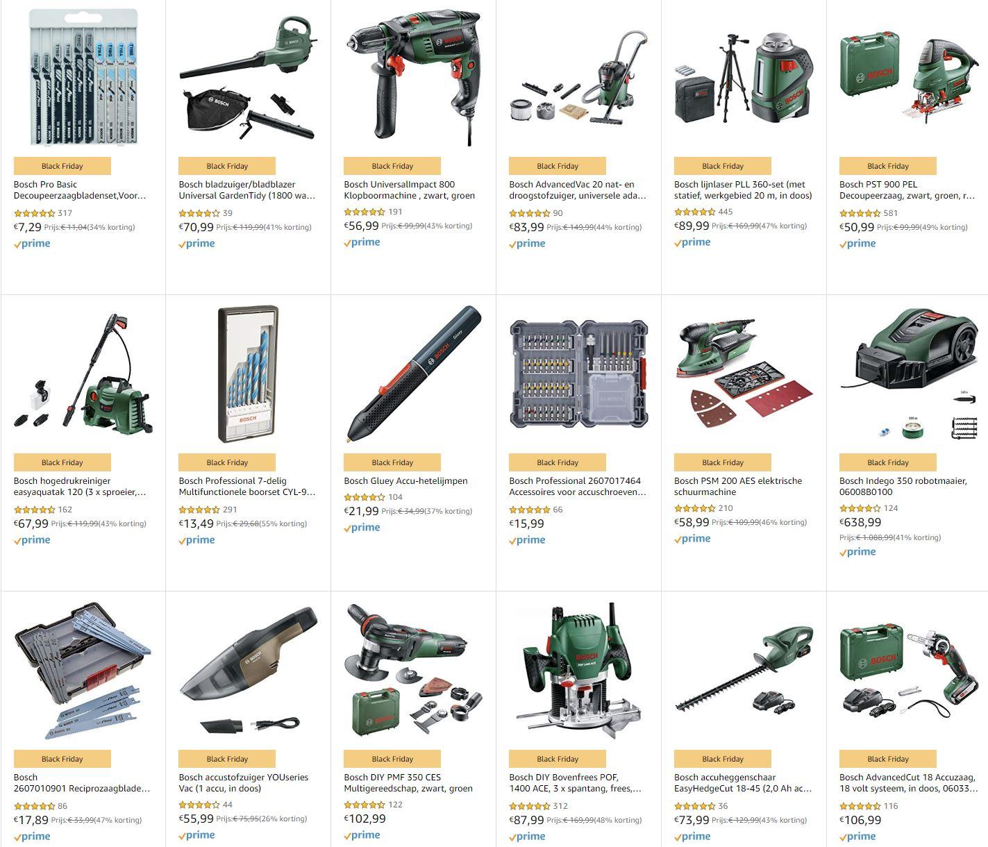 Bosch Black Friday Deals @Amazon
