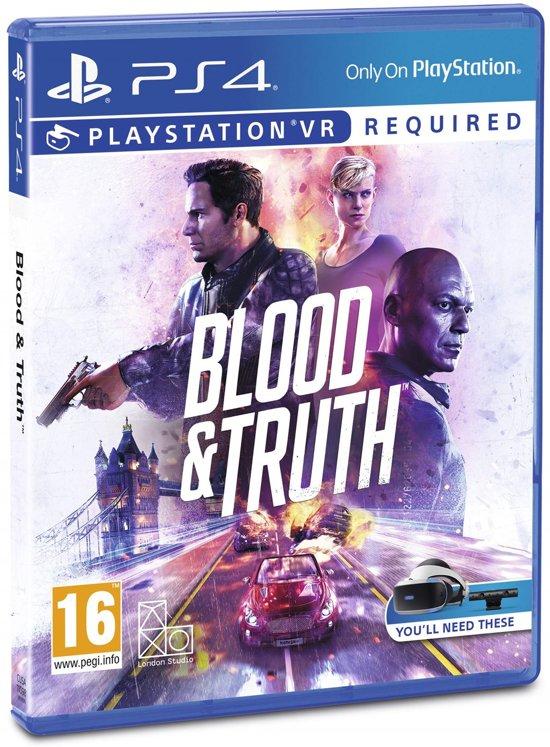 Blood & Truth 19,99 @Bol.com