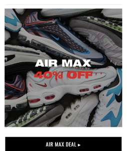 Nike air max 40% korting black week @ Kickz