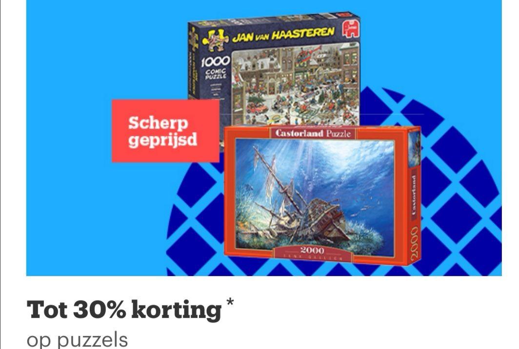 [Black Friday] Dagdeal tot 30% korting op legpuzzels (oa op Jan van Haasteren & Wasgij) @ Bol.com