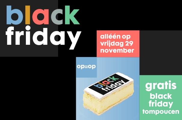 2 gratis tompoucen bij Hema op Black Friday