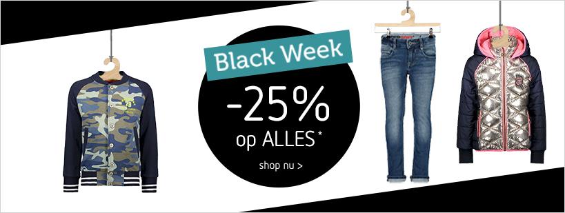 25% korting op alles bij Kleertjes.com