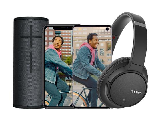 T-Mobile: Sony Headphone of Ultimate Ears BOOM 3 cadeau bij aankoop van selecte deals