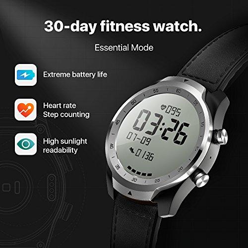 Mobvoi Ticwatch Pro Zilver Amazon.de