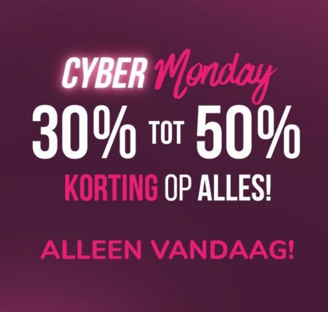 Cyber Monday: Tot 50% korting op ALLES + 15% extra @ Hunkemöller