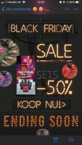 Black Friday Gel Nagellak Deal: 50% korting op sets @ Pinkgellac