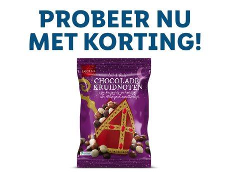 Kortingscoupon Lidl: Chocolade kruidnoten 300 gr €0,99