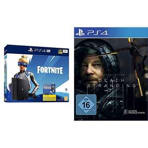 PlayStation 4 Pro 1TB Fortnite Neo Versa Bundle + Death Stranding @ Amazon.de