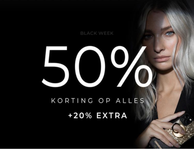 50% korting op alles bij Ideal of Sweden