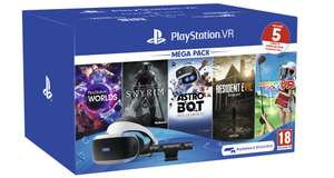PS4 VR Mega Pack II + 5 games