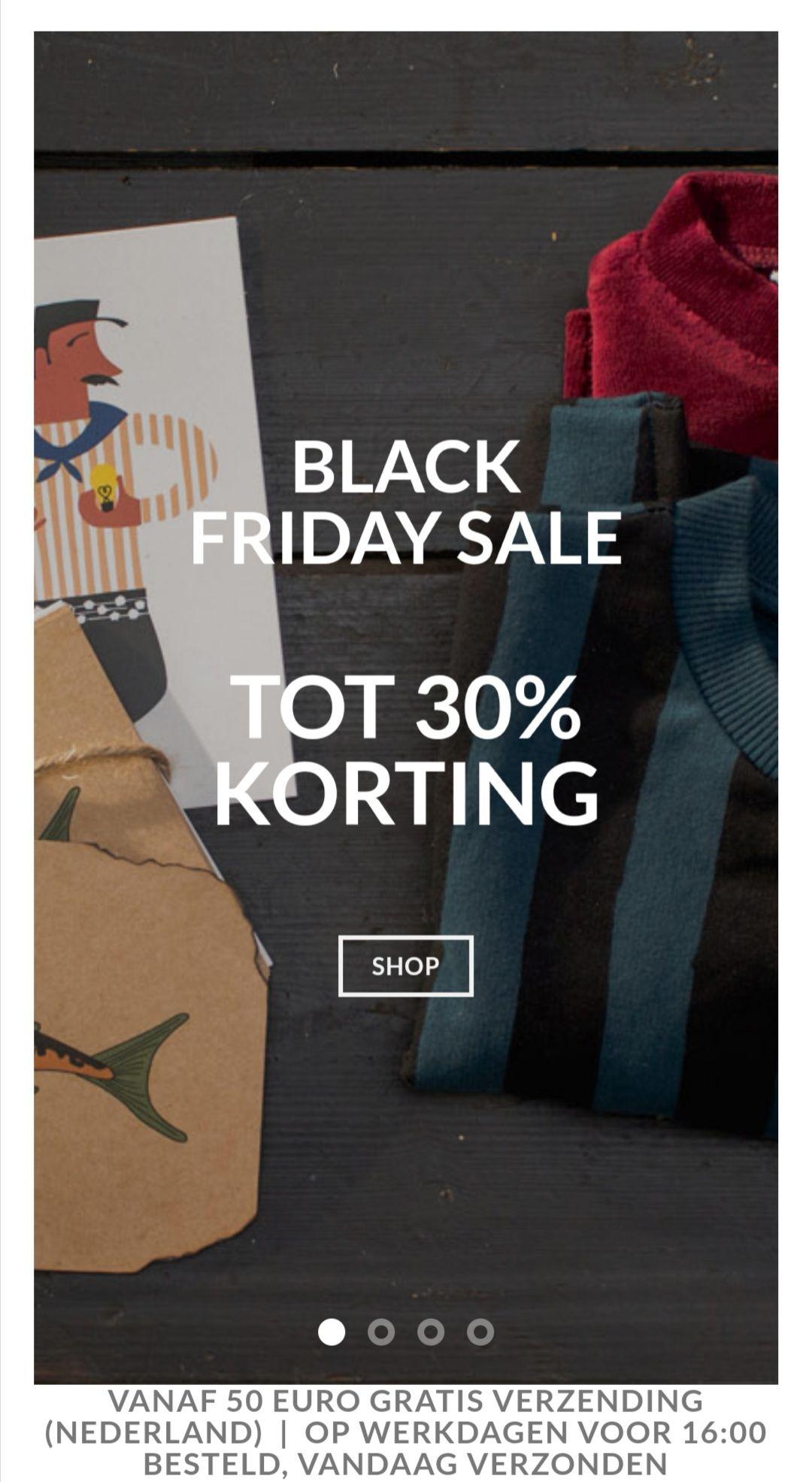 Black Friday Sale, tot 30% korting op speelgoed, kinderkleding & meer @ peertje