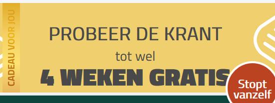 [Stopt automatisch] Gratis 4 weken de krant: AD / Brabants Dagblad / DeStem / ED / Parool / PZC / Stentor / Tubantia / Trouw / Volkskrant