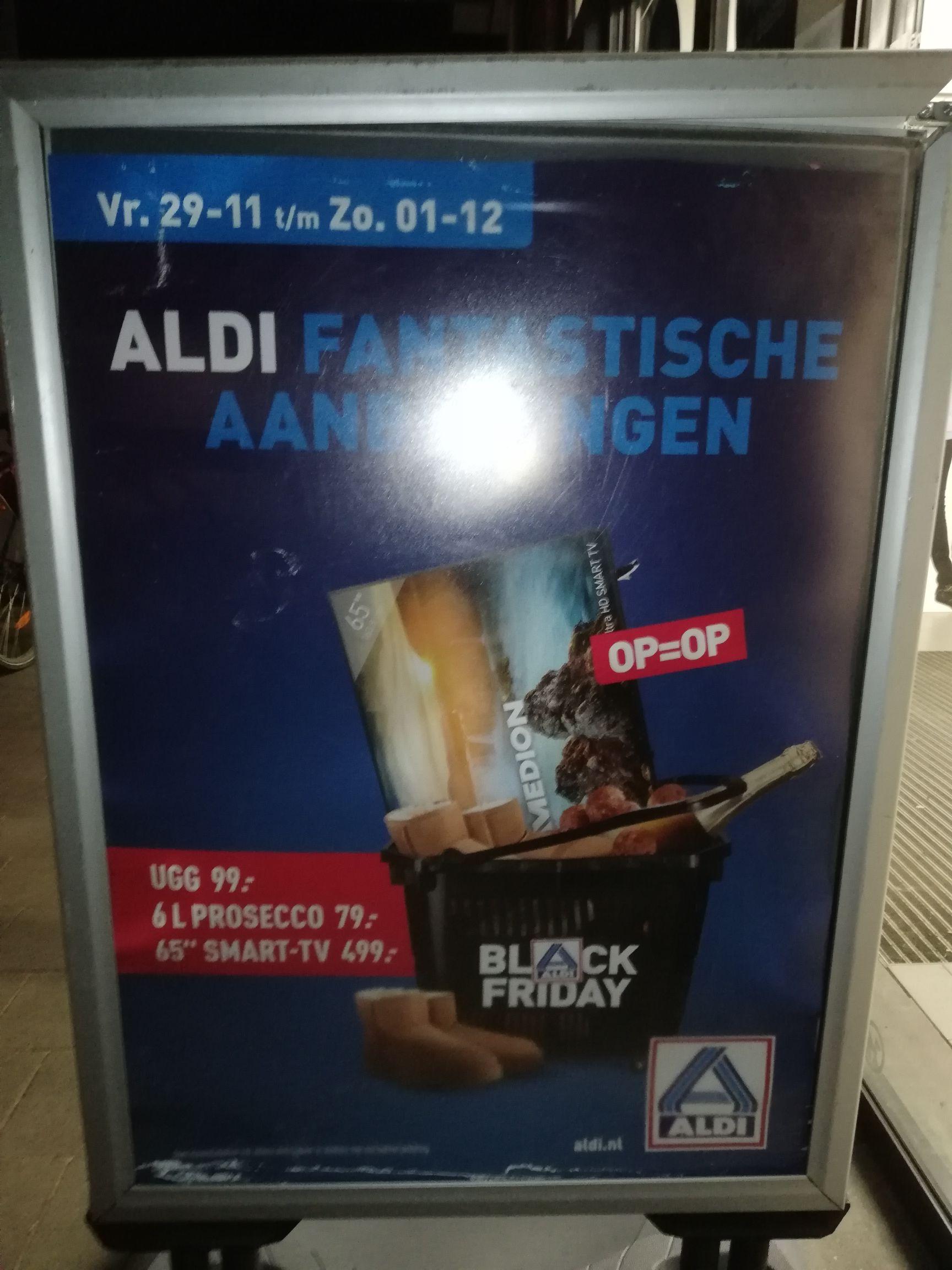 Black Friday bij Aldi: Prijzen bekend gemaakt