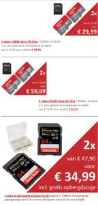 [Black Friday] o.a micro SD & Pro SD kaarten bij Data IO