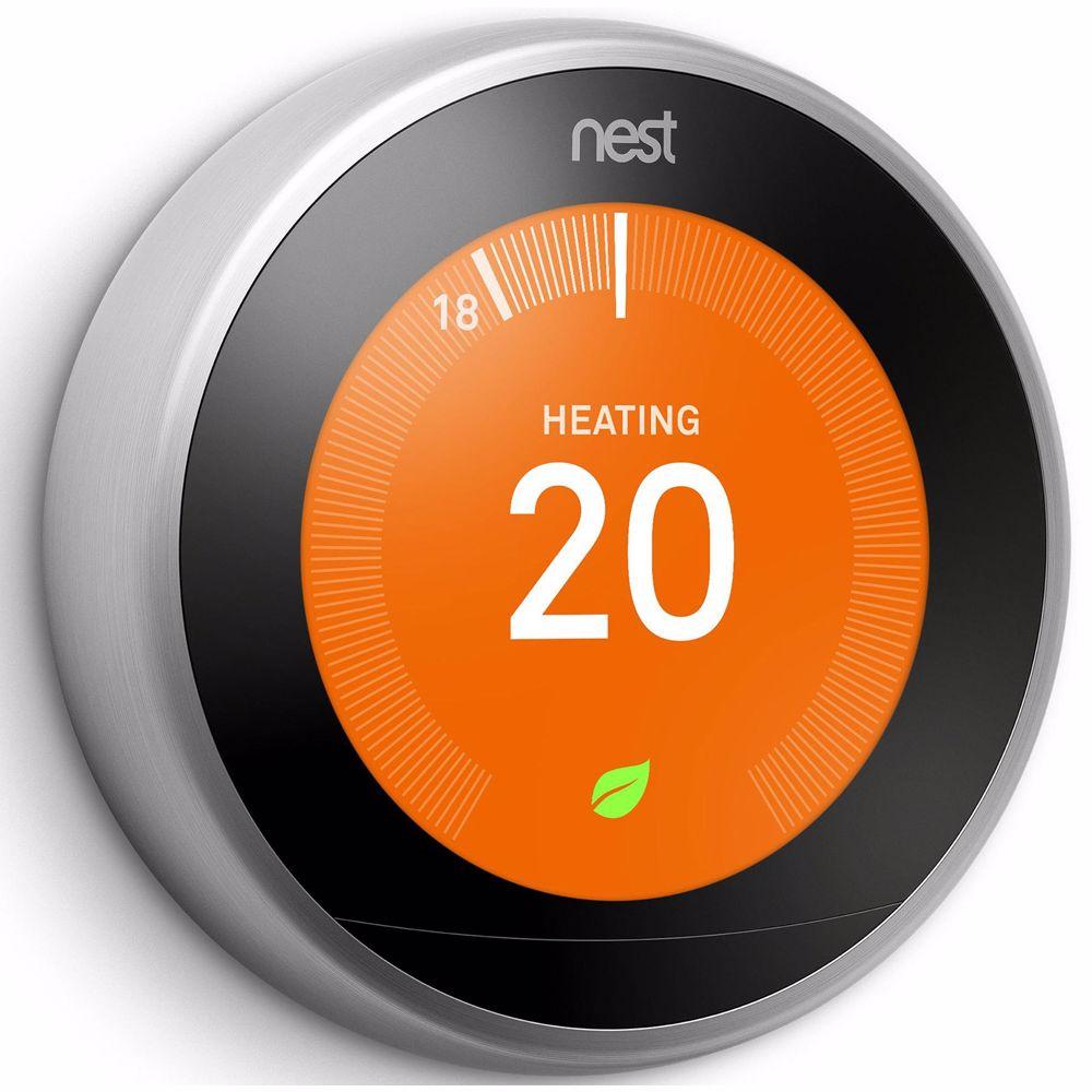 Google Nest Learning Thermostat + Gratis verzending